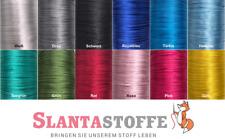 5 m Satinkordel, Satinschnur, frei Farbwahl, 2mm *12 Farben*