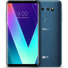 LG V35 ThinQ 64gb Smartphone Black AT&T ONLY VERY GOOD CONDITION