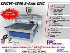CNC Warehouse CNC Router/Engraver/3D Carver Model CNCW-4848-B
