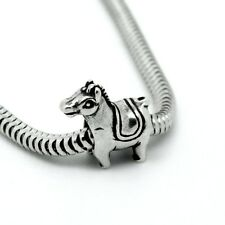 PONY Horse - Donkey - Animal - Solid 925 sterling silver European charm bead