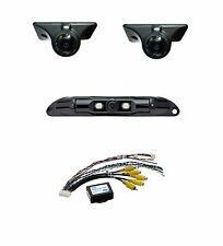 Echomaster Backup Camera & (2) Blind Spot Cameras & PAC VS41 Video Switcher