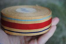 WW2 Africa star ribbon original silk tailor stock