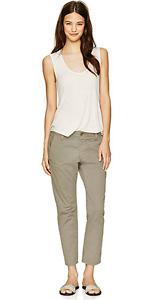 *NWT*J Brand Inez Low-Rise Slim Fit Chino Pants Light Sage Sizes: 24,25,26,27