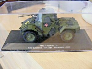 ATLAS EDITIONS 1/43 SCALE WW2 FRENCH AMD 35 PANHARD 178 (1940)