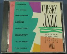 Chesky Records Jazz Sampler & Audiophile Test Compact Disc CD OOP TAS JD37