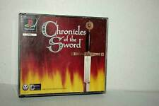 CHRONICLES OF THE SWORD USATO BUONO SONY PSONE VERSIONE ITALIANA FR1 46083