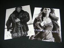 ANDREW MARC magazine clippings print ads