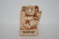 Paula 1980 W591 Love Is That Little Something Extra Mom Baby Koala Bear Figurine