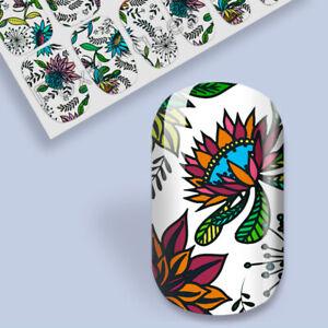 Nail Art Sticker Transfer Self Adhesive Decal Foil Wrap L@@K BUY 3 GET 1 FREE