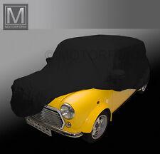 Austin Mini Cooper Indoor intégrale car cover voiture garage Noir Doux Edel