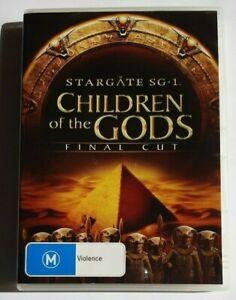 Stargate SG-1 Children of the Gods  Final Cut  PAL DVD R4 VGC