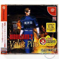 Jeu Biohazard / Resident Evil 2 Value Plus [JAP] sur Sega Dreamcast NEUF Blister