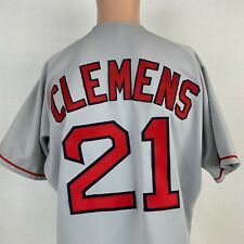 Rawlings Authentic Roger Clemens Boston Red Sox Jersey Vtg 90s MLB Road Sewn 44