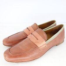 KING TARTUFOLI Chaussures mocassins kfla8648 37 cuir Slipper NP 179 NEUF