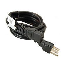 HQRP AC Power Cord for Coby LEDTV2226 TFDVD1595 TFTV2625 LCD HD TV