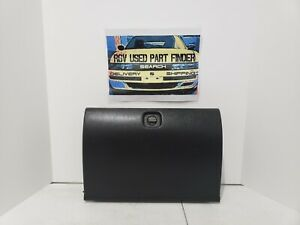 1990 1991 1992 1993 Isuzu stylus Oem Black Dash Glove Compartment