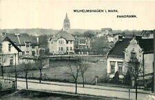 AK Berlin Wilhelmshagen ca. 1910 (?) Blick v. Grenzbergeweg (?) Richtung Kirche