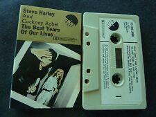 STEVE HARLEY & COCKNEY REBEL THE BEST YEARS ULTRA RARE CASSETTE TAPE!