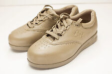 Supremes 7.5 Wide Taupe Sneakers Women's Shoes