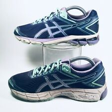Asics Womens GT-1000 Running Training Shoes Sneakers US 9 D Wide