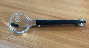 Magnifying x2 Glass w Tweezers Reading Eyebrow Splinter Magnifier Pocket Repair
