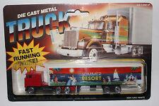 """Playart Majorette Road Champs """"Summer Resort"""" Semi Truck with Blister Pack"""