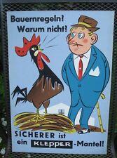 Original Plakat Entwurf von Fehling Klepper , Mäntel, Boot, Zelt         ( 33 )