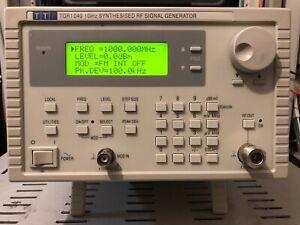 TTi 1 GHz RF Signal Generator TGR1040 with Calibration Thurby Thandar HF VHF UHF