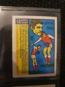 Learn the Game (Anglo Confectionary) - World Cup 70 - Frank McLintock (Arsenal)