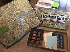 Scotland Yard Detective Board Game~ Milton Bradley 1985
