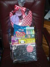 Mermaid'S Treasure Birthday Basketw/Sand Toys,Chalk,Candy,Reversib le Sequin Bin