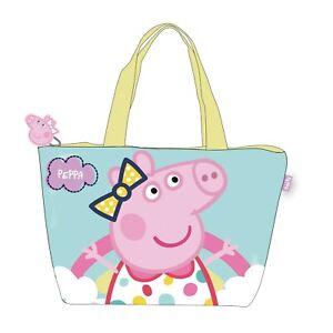 Peppa Pig Girls Large Summer Beach Bag Shoulder Bag