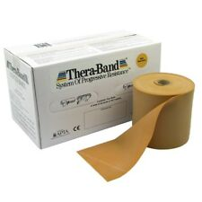Thera-band Exercise System (HYG114GLD) Gold/Maximum Resistance 50 yard roll NEW!