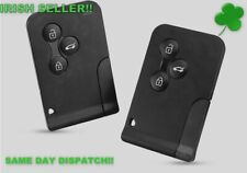 Renault Clio Megane key fob Scenic Grand Scenic 3 Button Key Card Shell Case