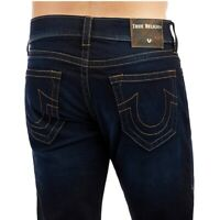 True Religion Men's Geno Slim Fit Stretch Jeans in Blue Night