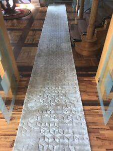 The Rug Company Runner/Stair Rug  Silk 8 Meters x 1M STUNNING!