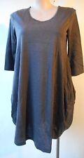 Eversun Grey Dress Size 18 3/4 Sleeve Lined