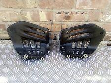 YAMAHA  RAPTOR 250 Heel Guards in good condition,foot,leg, plastic,2007-2012