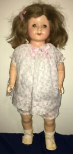 """22"""" Antique Compo EFFANBEE ROSEMARY DOLL"""