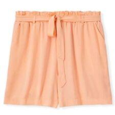 Torrid Challis Shorts Plus Size 2X 18-20 Peach Stretch Pockets Drawstring Waist