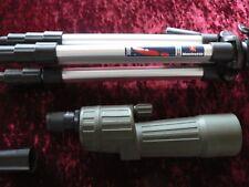 OPTICRON HR60R 60mm SPOTTING SCOPE + ZOOM EYEPIECE & MANFROTTO TRIPOD