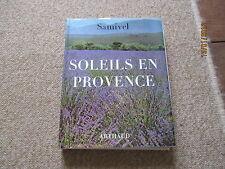 SAMIVEL soleils en provence arthaud + jaquette photos 1973