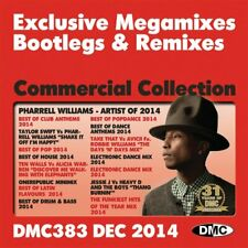 DMC Commercial Collection 383 Club Hits Continuous Mixes and Two Trackers DJ CD