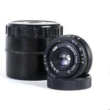 ^ Russian Industar-50-2 50mm 3.5 Pancake Camera Lens - M42 Mount