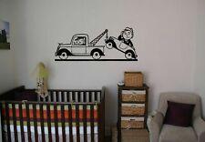 Wall Art Vinyl Sticker Room Decal Mural Decor Cars Trucks Boys Nursery bo2320