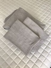 Hotel Collection Yarn Dye 525 Thread Count QUEEN Sheet Set - Ash