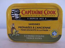 Capitaine Cook, Sardinen in extra nativen Oliven Öl, Vierge extra,115g, ATG 87g