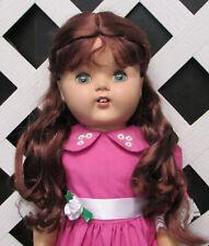 """Doll Wig, Monique """"Lexy"""" Size 6/7 in Chestnut Brown"""