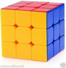 Rubik's Cube 3x3x3 Puzzle Extra Smooth - High Speed Sticker less
