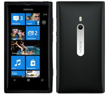 "NOKIA LUMIA 800 Unlocked Black 16gb 3.7"" 8mp Camera Microsoft Windows Smartphone"